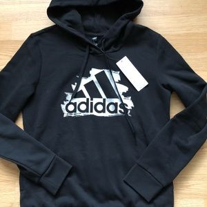 """Brand new """"Adidas"""" hoodie size Large"""
